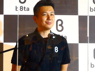 b8ta Japan カントリーマネジャー 北川卓司氏