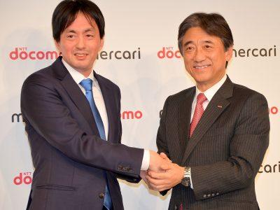左からメルカリ 代表取締役CEOの山田進太郎氏