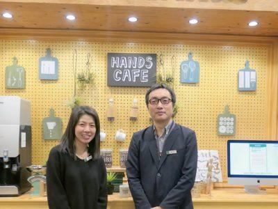 右から東急ハンズ IT ソリューション部 企画推進グループ グループリーダー 田木 清太氏、同グループ 浅井 宏美氏