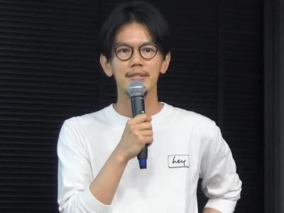 ヘイ 代表取締役社長 佐藤裕介氏