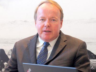 海外の概況について語るJ.D.Power SVP&General Manager Global Business Intelligence Keith Webster(キース・ウェブスター)氏