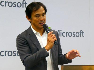 日本マイクロソフト 執行役員 常務 パートナー事業本部長 高橋 美波氏