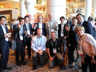 9月に開催されたバンクーバーのコミュニティミーティングでの様子  写真中央の前列左側は  PCISSC  エグゼクティブ・ダイレクター Lance Johnson