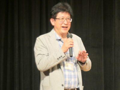 「第5回貨幣革新・地域通貨国際会議飛騨高山大会」の組織委員長を務めた西部忠氏