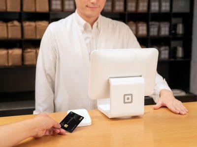 Square ReaderとSquare Standによるタッチ決済の利用イメージ
