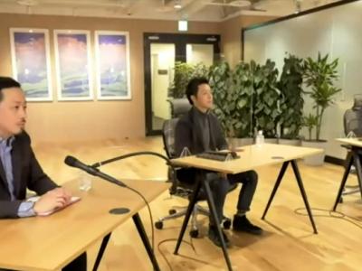 左から顧客時間 共同CEO 取締役 奥谷孝司氏