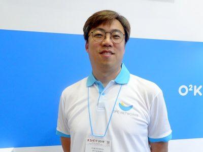 SPC NETWORKSのCHO SUNGWAN氏