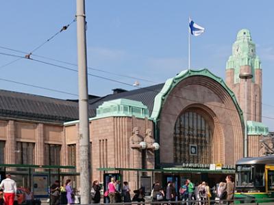 (写真2)フィンランドの首都ヘルシンキ(筆者撮影)